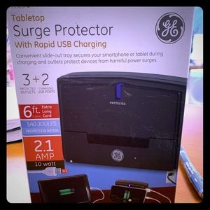Two New GE Tabletop Surge Protectors